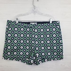 Boden Floral Richmond  Shorts size 14